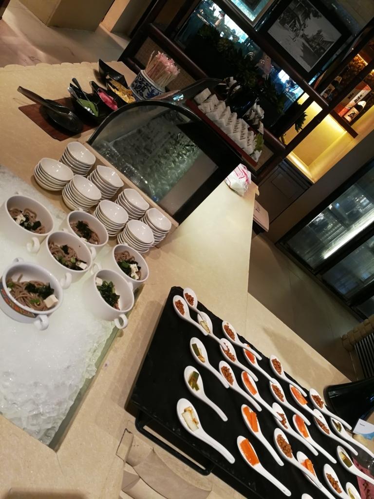 セブ島シャングリラマクタンの納豆朝ご飯