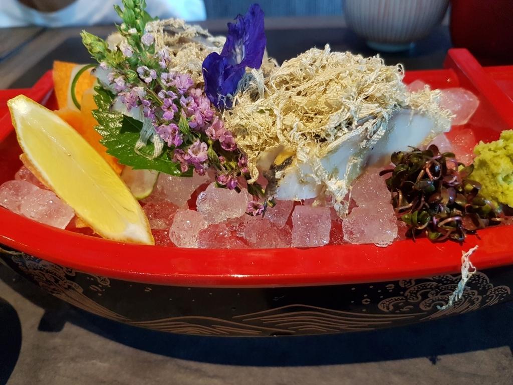 フィリピン・セブ島bai Hotelの和食「梅」