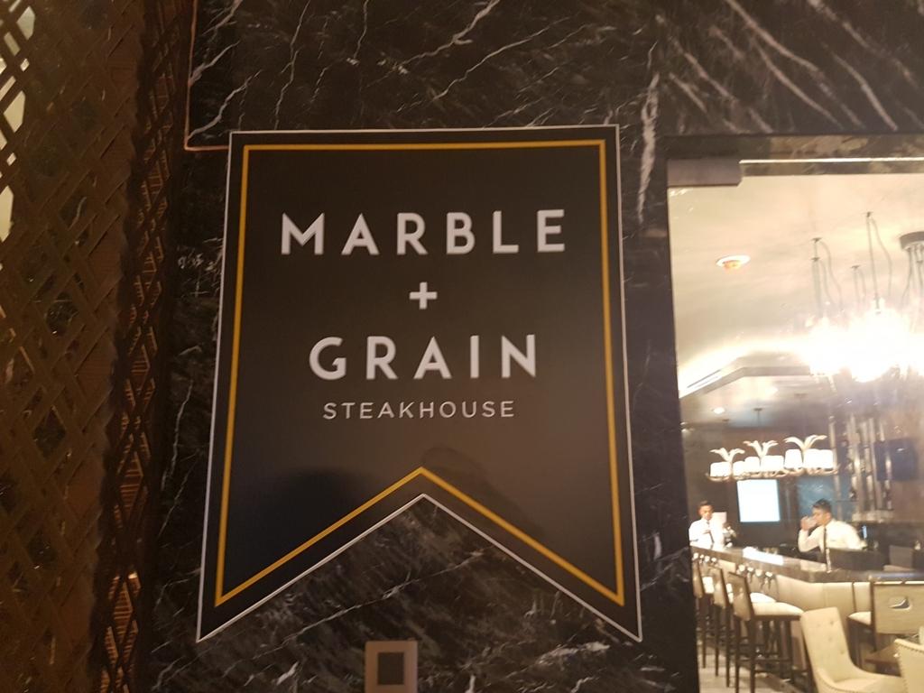 フィリピン・セブ島bai HotelのステーキハウスMARBLE+GRAIN