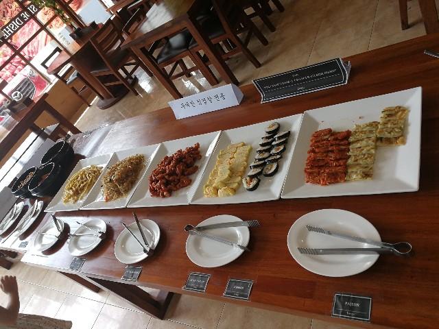 フィリピン・セブ島でチーズサムギョプサル