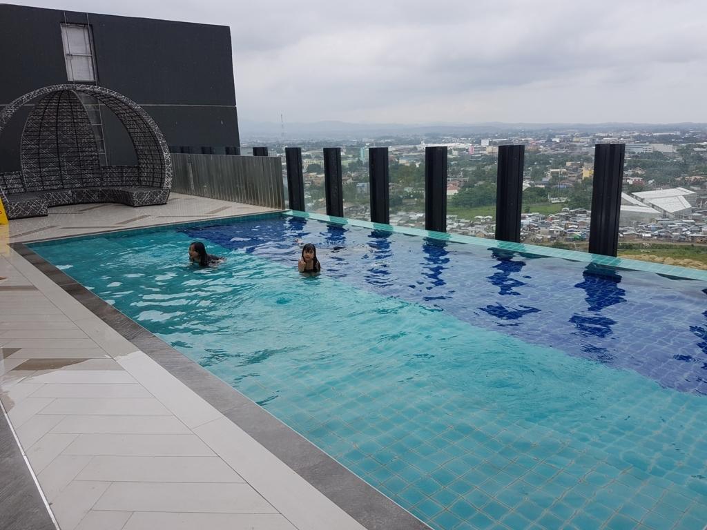 フィリピン・セブ島bai Hotelのプール