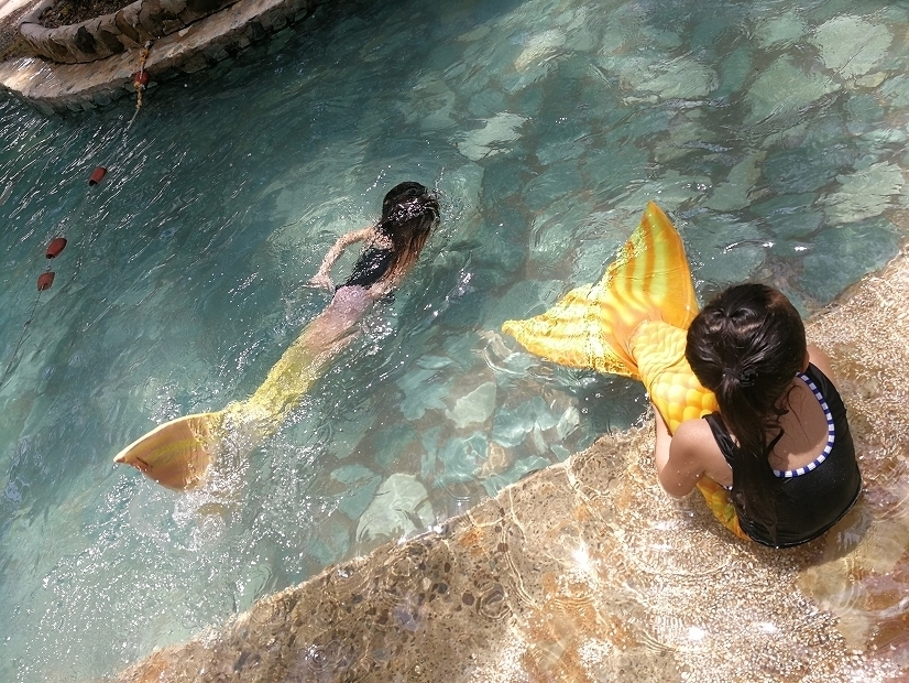 フィリピン・セブ島でマーメイド体験