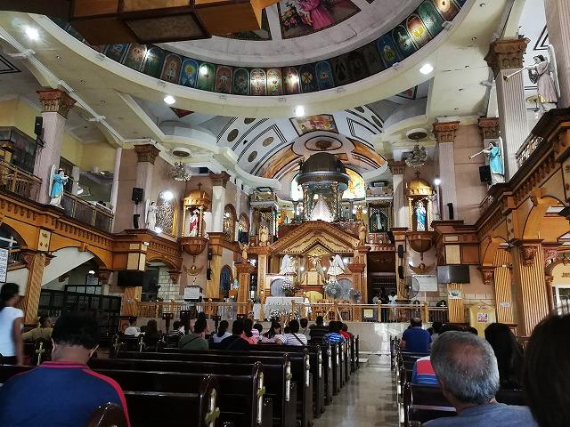 フィリピン・セブ島南部シマラ教会